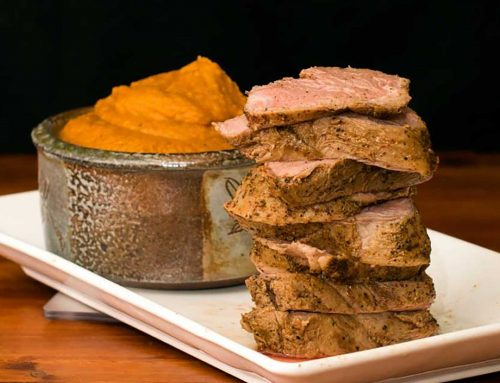 Sous Vide Pork Tenderloin with Chili Rub