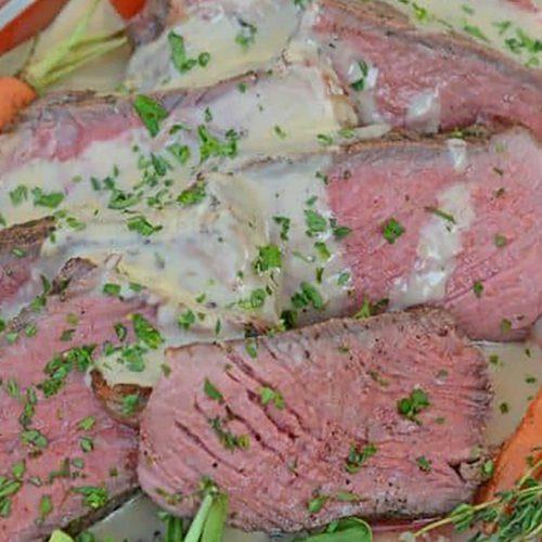 Sous Vide Steak Au Poivre