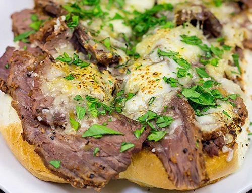 Sous Vide Steak Sandwiches